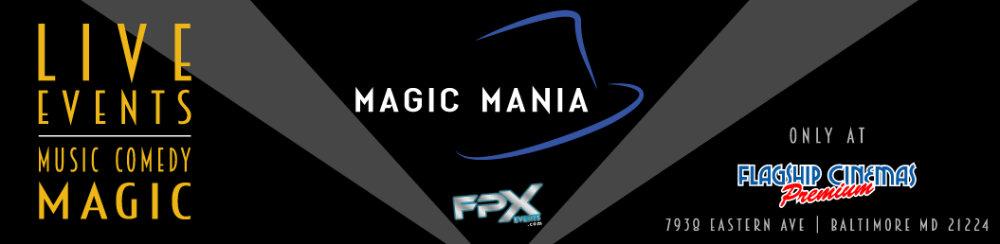 Live events at Magic Mania
