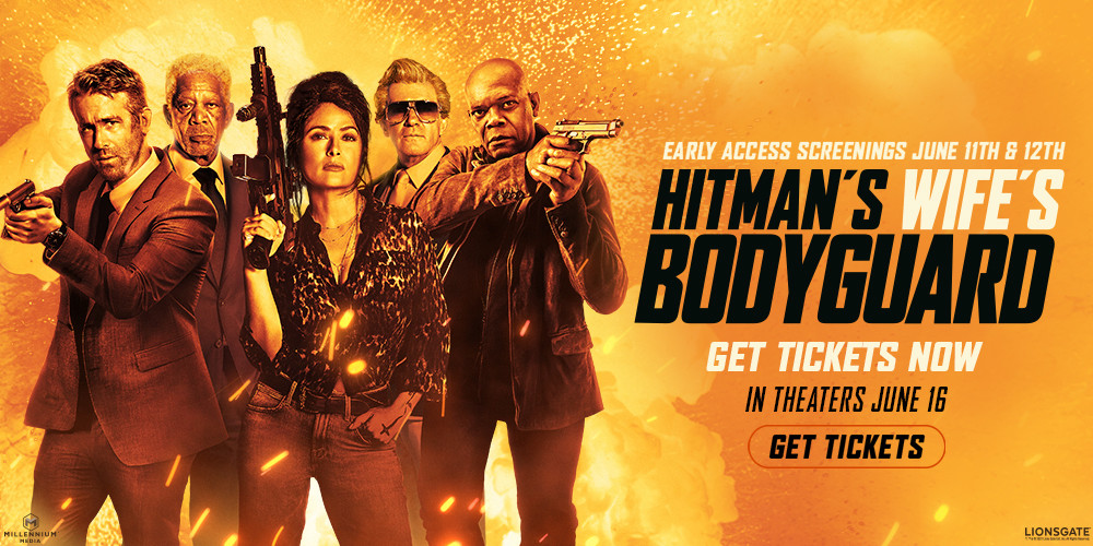 Hit Man's Wife's Bodyguard Early Access Screenings