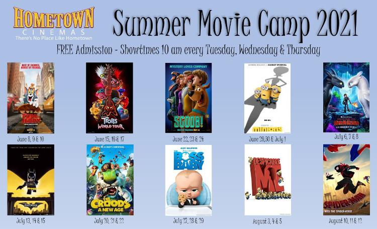 Summer Movie Camp 2021