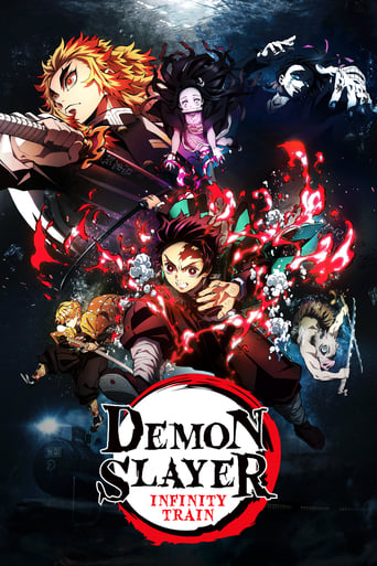 DEMON SLAYER MUGAN TRAIN (SUBTITLED) Poster