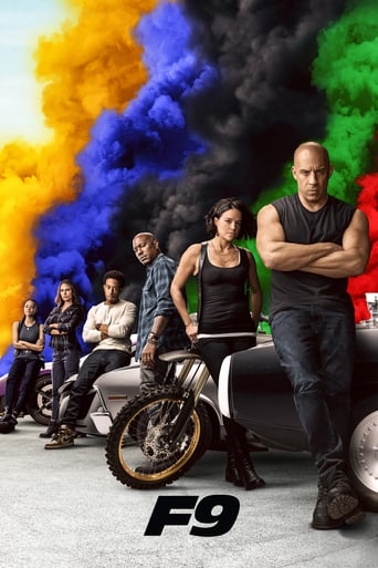 F9 FAST AND FURIOUS Poster