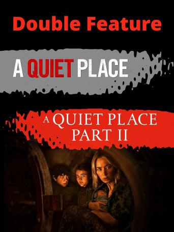 QUIET PLACE DOUBLE FEATUR Poster