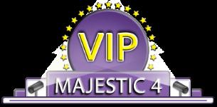 VIP Majestic 4 Logo